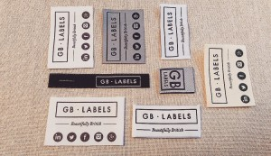 Beautifully British Custom Clothing Labels - GB Labels