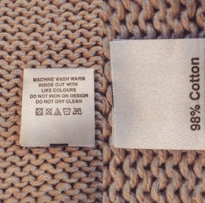 Wash Care Labels | Washing & Laundry Labels - GB Labels