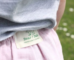 Our natural cotton labels are the perfect choice for a sustainable brand